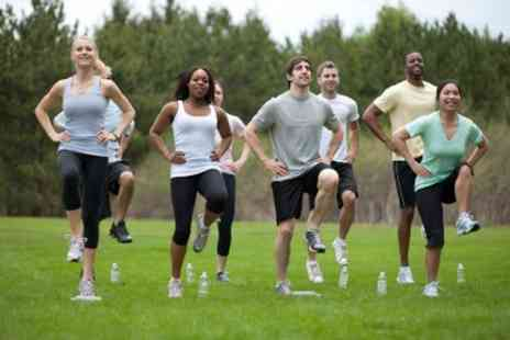 Boost Camp - 10 outdoor fitness sessions - Save 62%