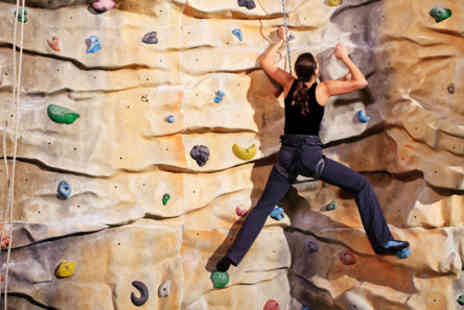 Creation Climbing Centre - Two hour introductory rock climbing classes in Birmingham - Save 61%