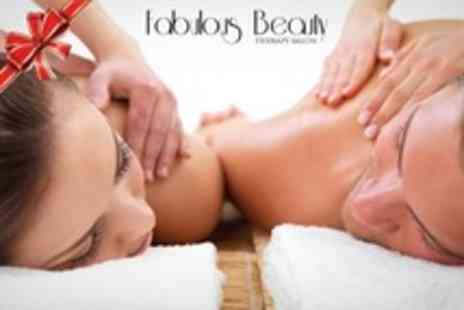 Fabulous Beauty Therapy Salon - Choice of Massage With Facial or Reflexology For One - Save 60%