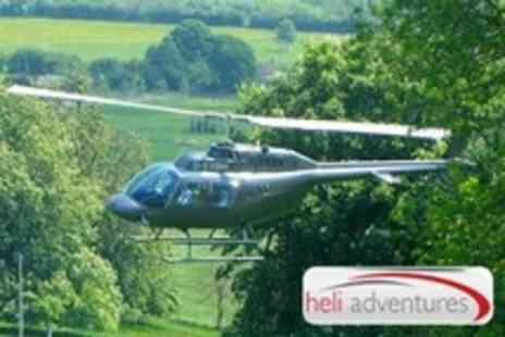 Heli Adventures - Helicopter Flight Over Cardiff, Bournemouth or Brighton - Save 64%
