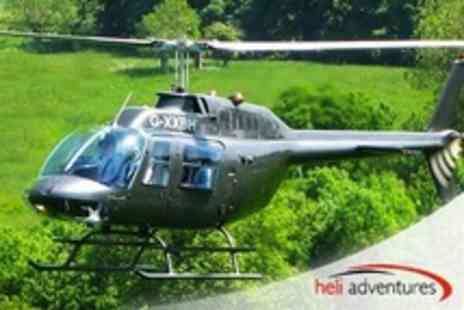 Heli Adventures - Scenic Helicopter Flight Across the Areas of Exeter or Wolverhampton - Save 50%