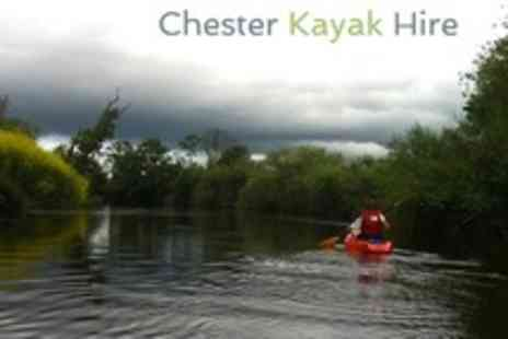Chester Kayak Hire - Kayaking One Hour Experience For One - Save 52%