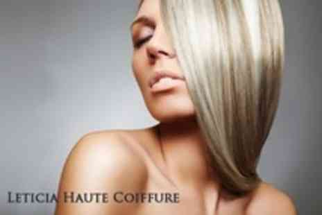 Leticia Haute Coiffure - Half Head Highlights With Kerastase Conditioning Treatment, Cut and Blow Dry - Save 81%