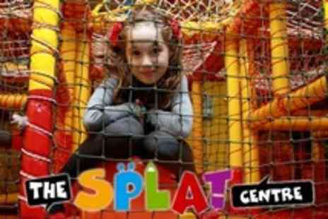 The Splat Centre - Kids Play Two Passes With Ice Lolly and Drink - Save 50%