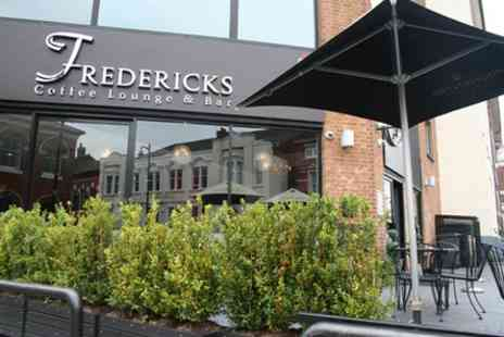 Fredericks Coffee Lounge  - Choice of cocktail pitcher in Birmingham - Save 50%
