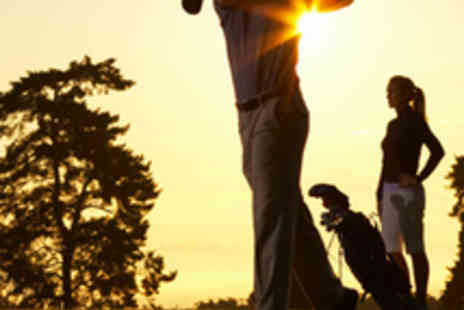 Surrey National Golf Club - 18 Holes of Golf and Driving Range for Two - Save 64%