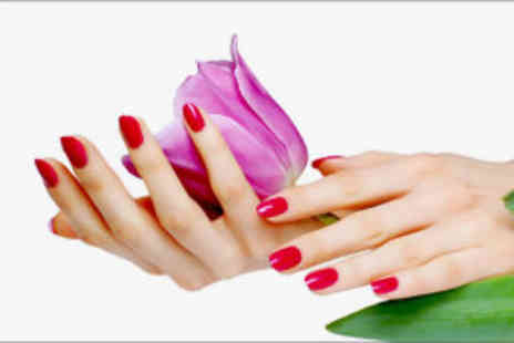 Star Treatment - Manicure and pedicure with Shellac polish  - Save 75%