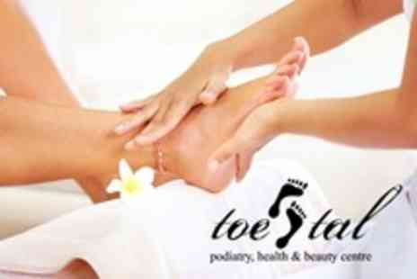 Toe Tal Podiatry Health - Chiropody With Massage, Paraffin Wax, and Pedicure - Save 57%