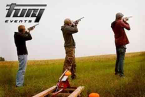 Fury Events - Clay Pigeon Shooting - Save 50%