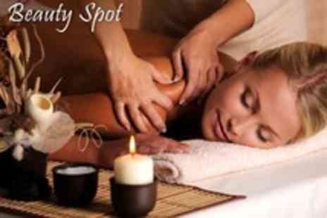 The Beauty Spot - Chocolate Facial, Back Scrub and Massage, or Microcurrent Microdermabrasion - Save 45%
