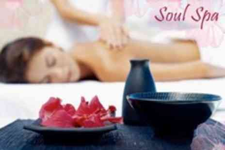 The Soul Spa - Full Body Massage with Choice of One Hour Treatment - Save 64%