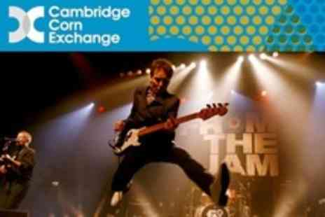 Cambridge Corn Exchange - One Ticket to Class of '77 Tribute Gig Featuring Songs From The Jam  - Save 50%