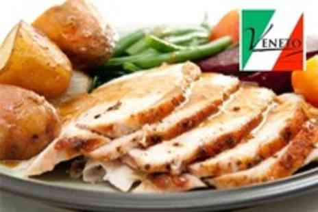 Veneto Restaurant - Two Course Sunday Lunch For Two - Save 58%