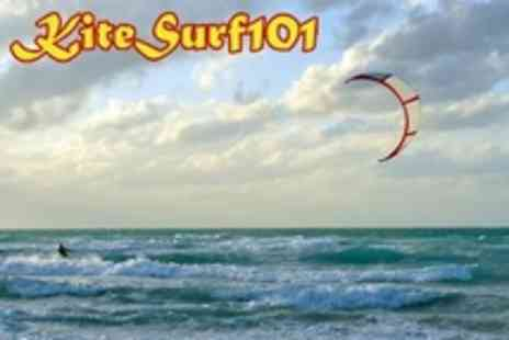 Kitesurf 101 - Five Hour Kitesurfing Course For One - Save 61%