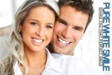Pure White Smile - Teeth Whitening - Save 69%