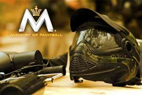 Ministry of Paintball - Two VIP Paintball Passes - Save 95%