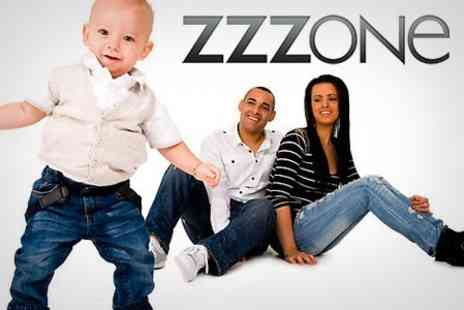 Zzzone Studios - One Hour Photo Shoot and 12x12 Canvas or Omega Block Frame - Save 83%
