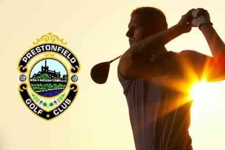 Prestonfield Golf Club - Three PGA Golf Lessons Including Video Analysis Session - Save 67%