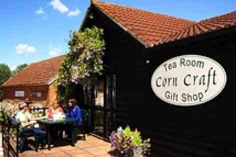 Bridge Farm Barns - Cream Tea With Gift Shop Voucher For Two - Save 50%