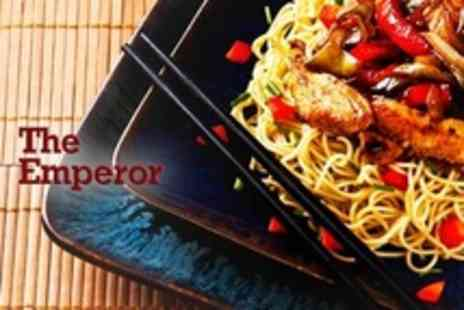 The Emperor - Four Course Chinese Meal For Two - Save 43%