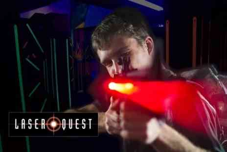Laser Quest Sheffield - Three Games of Laser Quest and a Drink For Two - Save 61%