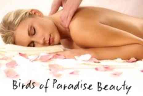 Birds of Paradise Hair and Beauty - One Hour Full Body Massage - Save 60%