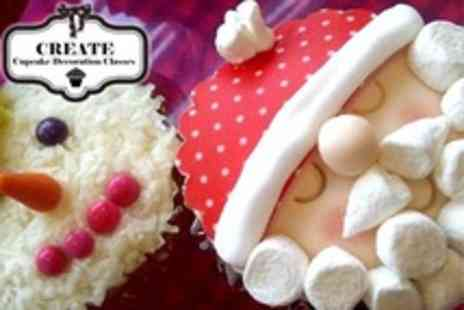 Create - Christmas Cupcake Decorating Class For One - Save 51%