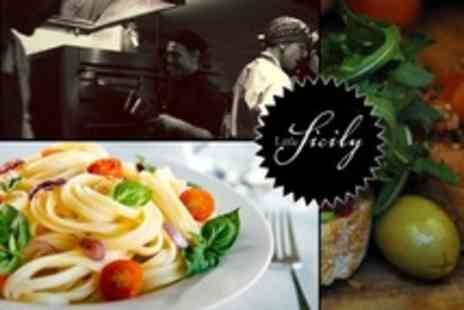 Little Sicily - Pasta Lunch With Prosecco For Two - Save 70%