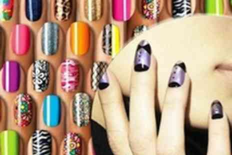 Trend Essential - An Express Nail Art Kit  funky nail designs in minutes - Save 76%