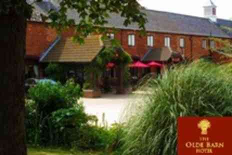 The Olde Barn Hotel - One Night Stay For Two With Three Course Dinner, Breakfast and Access to Health Club Facilities In Lincolnshire - Save 23%