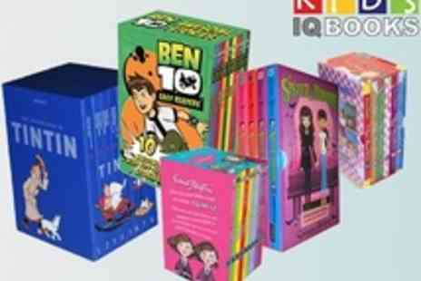 KidsIQ - Ben 10, Malory Towers, TinTin and many more Kids Popular Books Sets. - Save 69%