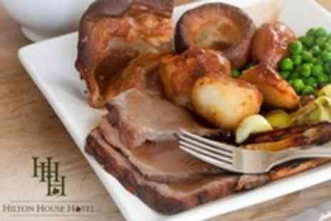 Hilton House Hotel - Sunday Carvery Lunch For Two - Save 60%