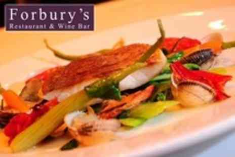 Forburys Restaurant - Two Courses of Modern French Cuisine For Two - Save 51%
