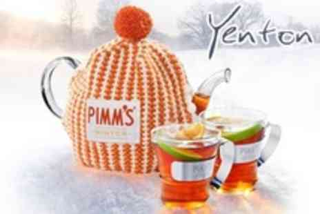 The Yenton - Afternoon Tea With Warming Pimms Winter For Two - Save 56%