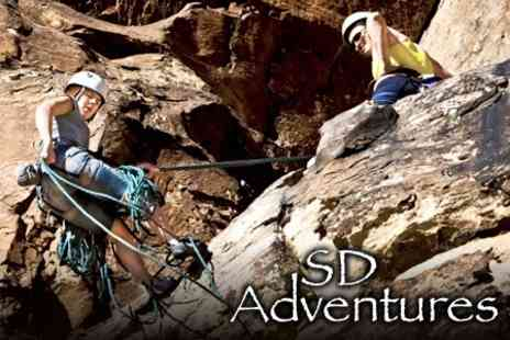 SD Adventures - Activity Package With Rock Climbing and Canoeing - Save 60%