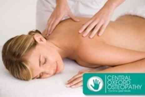 Central Oxford Osteopathy - Two Treatments With Full Consultation and Report - Save 70%