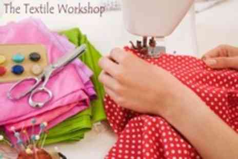 The Textile Workshop - Three Hour Class Knitting or Sewing Machine Basics - Save 70%