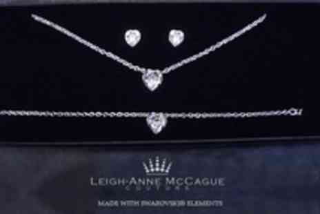 Leigh Anne McCague Couture - Grace Jewellery Set Made With SWAROVSKI ELEMENTS - Save 78%