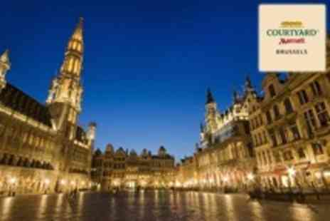 Marriot Courtyard - In Brussels Two Night Stay For Two With Breakfast and Parking - Save 32%