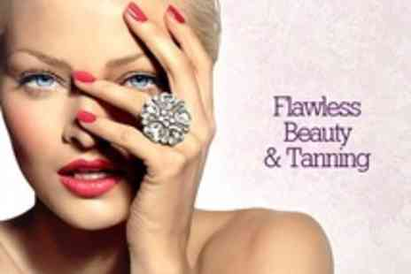 Flawless Tanning - Pamper Package With Massage and Facial - Save 52%