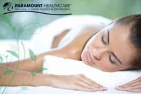 Paramount Healthcare - 60 Minute Body Wrap Plus Full Body Massage and Facial - Save 71%