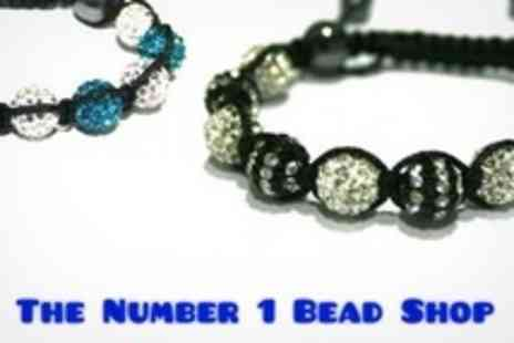 The Number 1 Bead Shop - Beginners or Shamballa Style Jewellery Making Class For One - Save 60%
