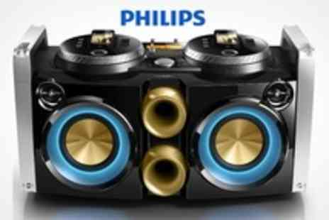 Brands Direct - Philips Dual DJ Dock With 300W Power and USB Slot - Save 10%