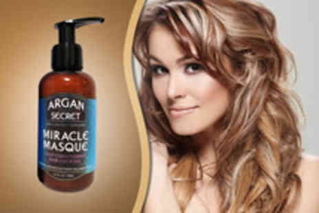 Eggsnog - A 125ml argan oil miracle hair masque - Save 55%