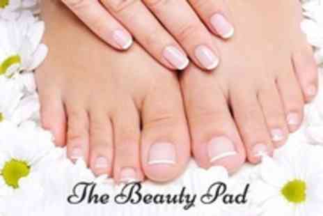 The Beauty Pad - Shellac Manicure or Pedicure - Save 60%