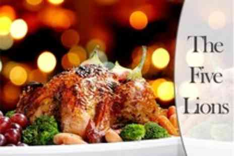 The Five Lions - Pub Meal For Two - Save 33%