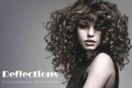 Reflections - Cut, Restyle and Finish with Conditioning Treatment - Save 75%