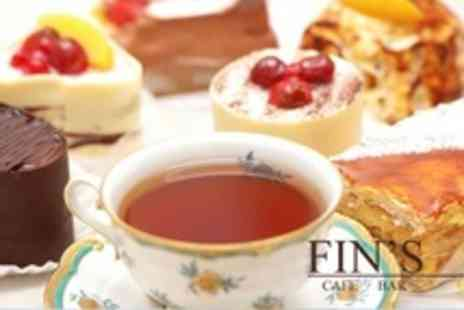 Fins Bar - Winter Afternoon Tea For Two - Save 40%