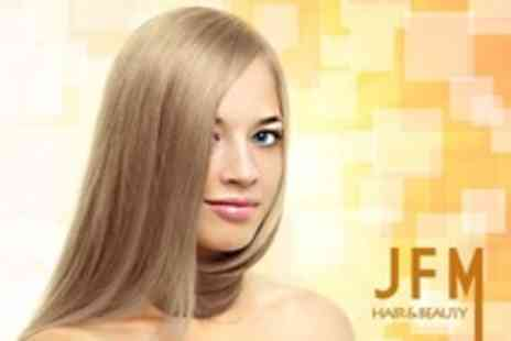 JFM Hair and Beauty - Cut, Conditioning Treatment and Blow Dry - Save 30%