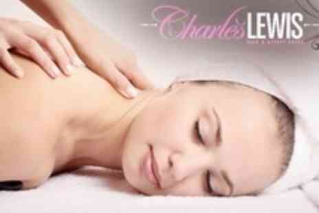 Charles Lewis Hair and Beauty - One Hour Full Body Massage Plus Facial - Save 64%